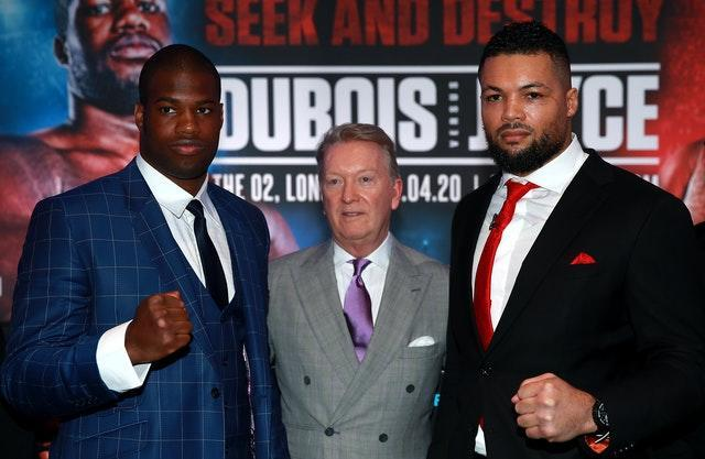 Daniel Dubois and Joe Joyce File Photo