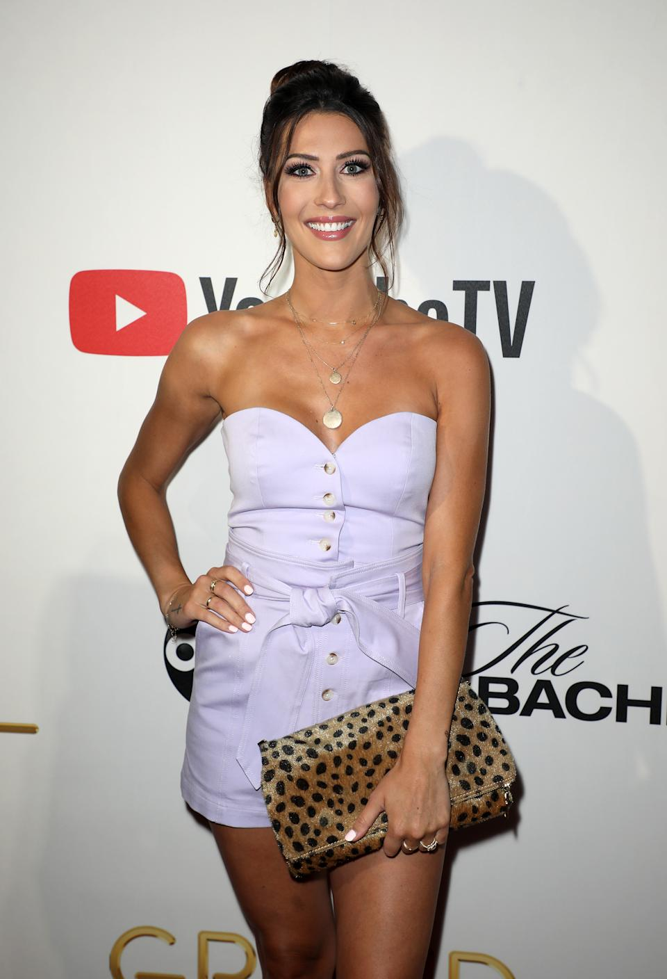 Becca Kufrin reveals that she's freezing her eggs. (Photo: Alexander Tamargo/Getty Images)