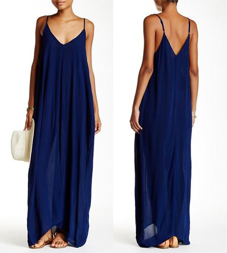 The popular v-neck dress even has adjustable spaghetti straps and pockets. (Photo: Nordstrom Rack)