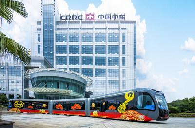 CRRC Trackless Tram will unlock the capacity of main roads and help cities build cleaner transportation systems.