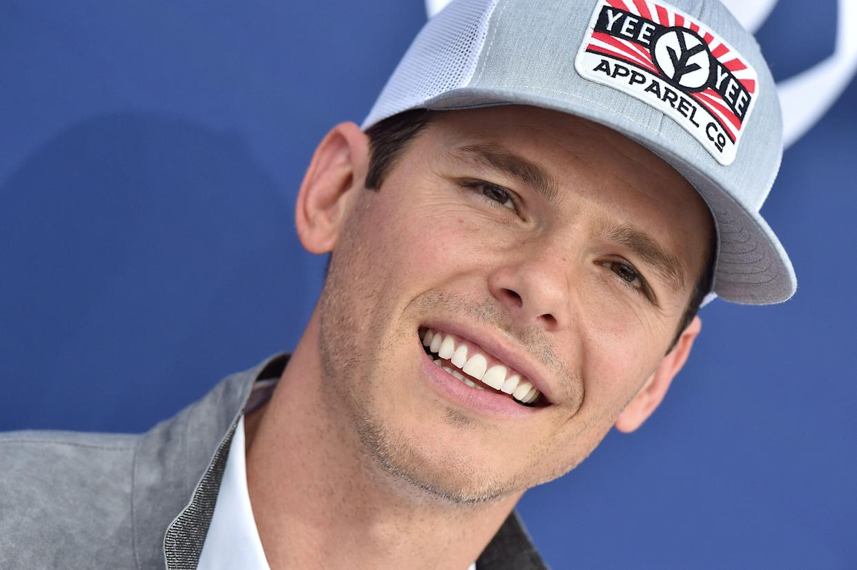 LAS VEGAS, NEVADA - APRIL 07: Granger Smith attends the 54th Academy of Country Music Awards at MGM Grand Garden Arena on April 07, 2019 in Las Vegas, Nevada. (Photo by Axelle/Bauer-Griffin/FilmMagic)