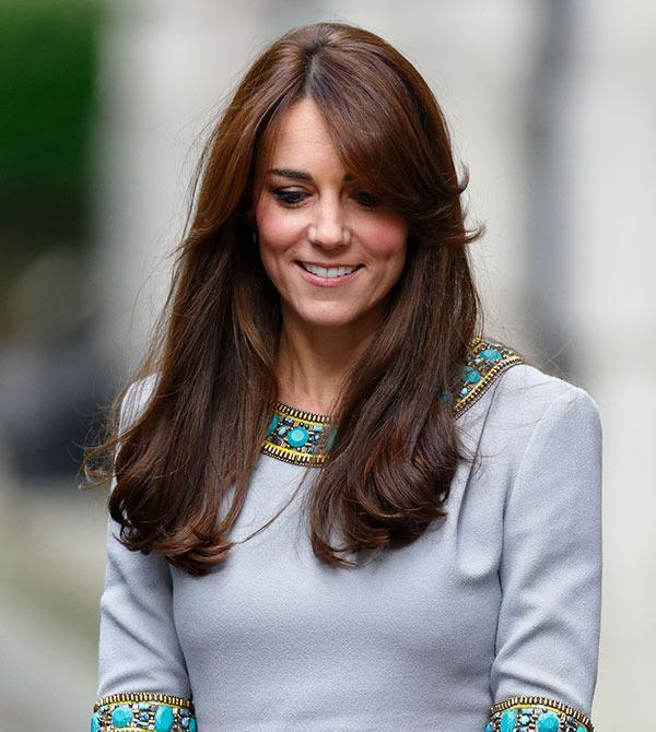 <br>Duchess Kate has never strayed far from the long brunette locks she's always had... until now!