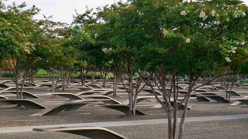 FILE: Pentagon Memorial during the Pentagon 9/11 Observance Ceremony in Washington D.C., Sept. 11, 2020.   / Credit: DOD Photo by Navy Petty Officer 1st Class Carlos M. Vazquez II