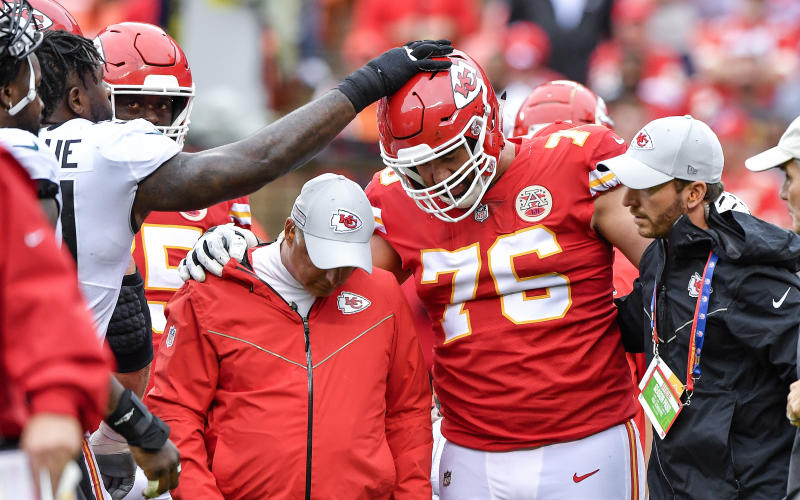 View photos. Laurent Duvernay-Tardif s potential return from injury is good  news for the Kansas City Chiefs d846e281e