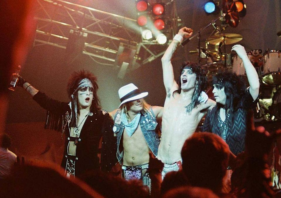 <p>The band's second album, Shout at the Devil, represented the band's mainstream breakthrough and would eventually be certified 4x platinum. It also gained the attention of Ozzy Osbourne and is the reason the band was his opening act for the Bark at the Moon tour in 1984.</p>