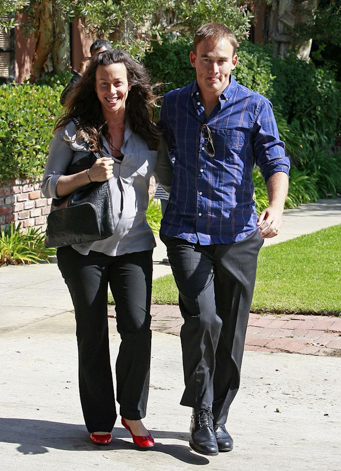 """It was a Christmas baby for Alanis Morissette and Mario Treadway! The singer, 36, and her rapper husband welcomed a boy, Ever Imre Morissette-Treadway on December 25. """"All are healthy and happy,"""" Morissette's rep said in a statement to the press. Jean Baptiste Lacroix/<a href=""""http://www.wireimage.com"""" target=""""new"""">WireImage.com</a> - October 7, 2010"""