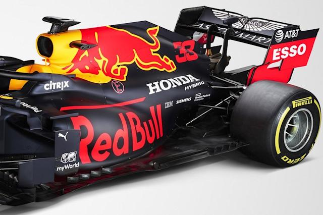 """Dettagli Red Bull Racing RB16 <span class=""""copyright"""">Red Bull Content Pool</span>"""