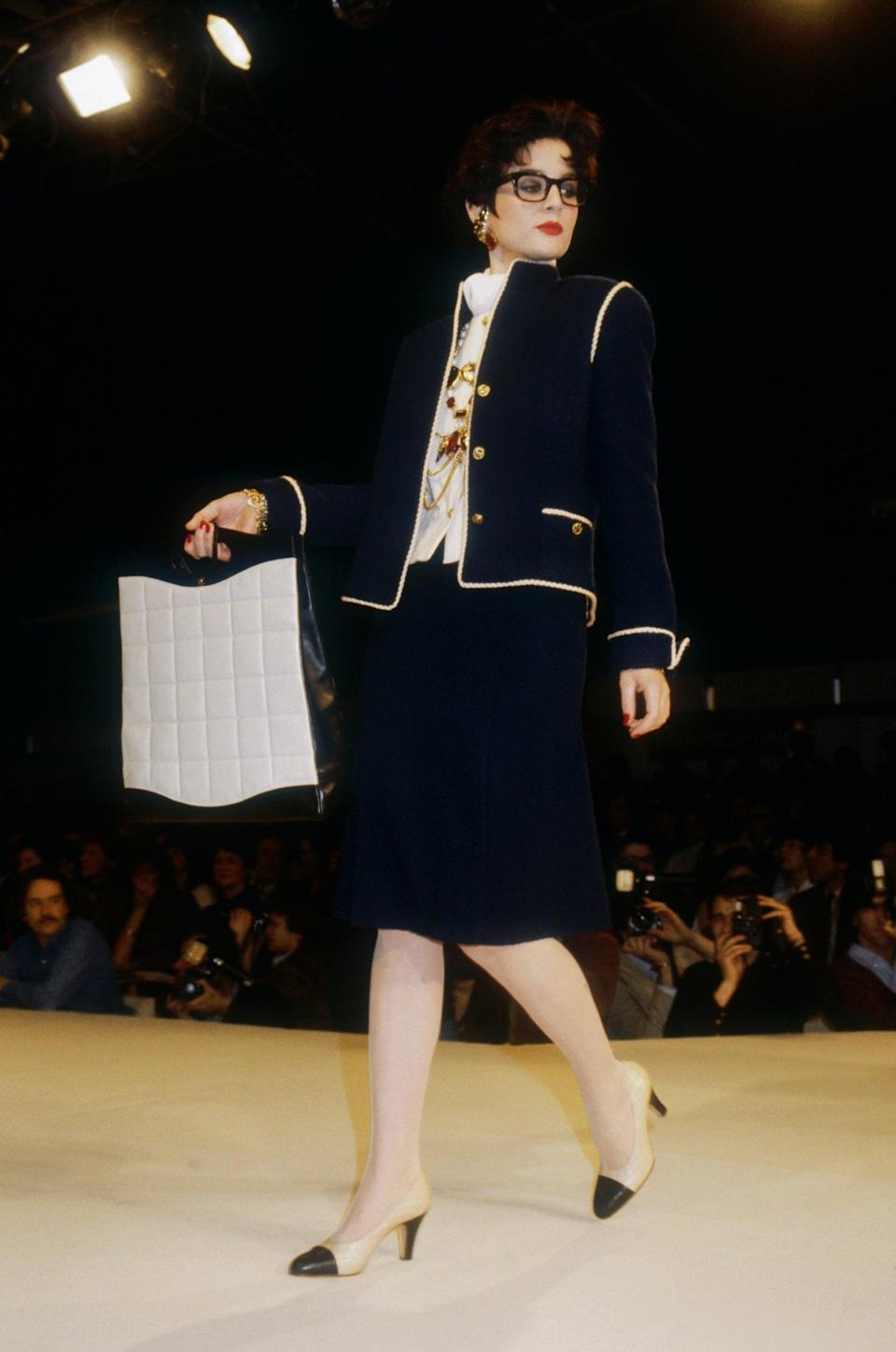 Chanel Haute Couture AW 1983Sygma via Getty Images