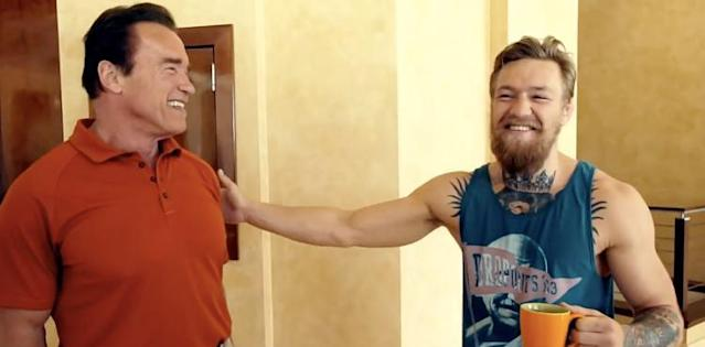 Conor McGregor Issues Arnold Schwarzenegger Well Wishes After Heart Surgery