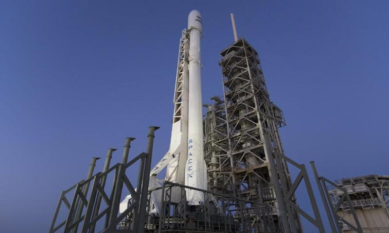 Elon Musk called the launch 'a milestone in the history of space'.