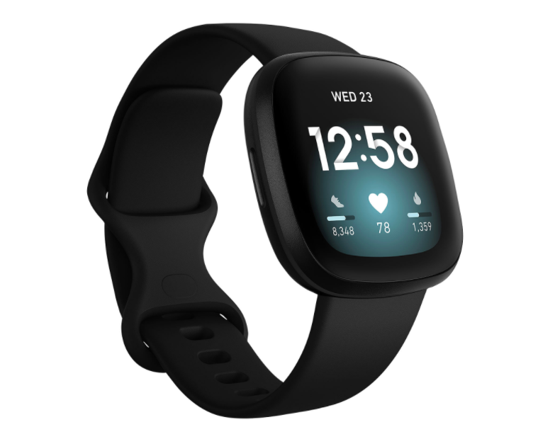 Fitbit Versa 3 Smartwatch with Voice Assistant, GPS & 24/7 Heart Rate (Photo via Best Buy Canada)