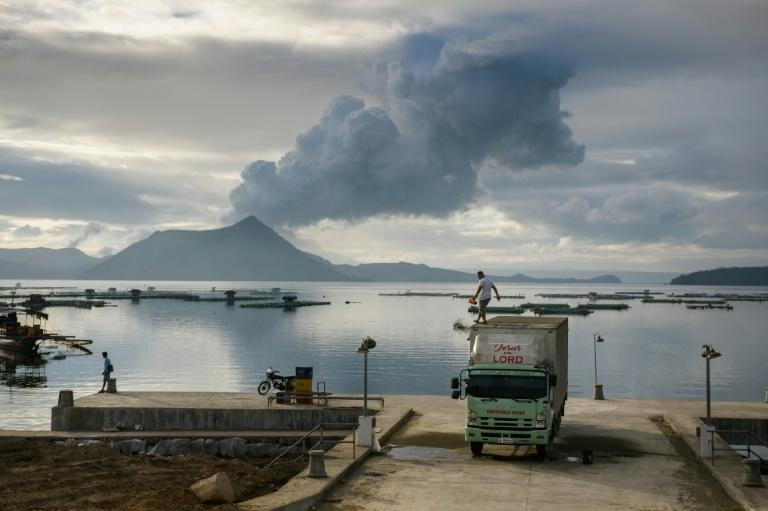 At least 135,000 people were evacuated after the Taal volcano in the Philippines burst to life two weeks ago