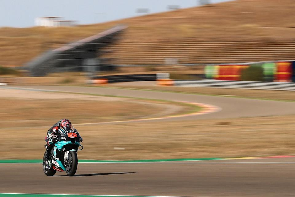 Quartararo 'doesn't have pace' to fight for Teruel win