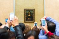"The <em>Mona Lisa</em> may be the most famous painting in the world, but she's not actually an original. There are multiple copies of the <em>Mona Lisa</em> all thought to be painted by <strong>Leonardo da Vinci,</strong> though some may have been made by his students who were attempting to copy their master's work as practice. Along with the <em>Mona Lisa</em> in the Louvre, there's also the <em>Isleworth Mona Lisa</em>, the Prado Museum La Gioconda <em>Mona Lisa</em>, the Hermitage <em>Mona Lisa</em>, Salaì's <em>Mona Lisa</em>, and even a <a href=""https://www.forbes.com/sites/ceciliarodriguez/2017/09/30/naked-mona-lisa-by-da-vinci-discovered-in-france-is-rocking-the-art-world/#264d147718d8"" rel=""nofollow noopener"" target=""_blank"" data-ylk=""slk:nude version"" class=""link rapid-noclick-resp"">nude version</a>. Oh my!"