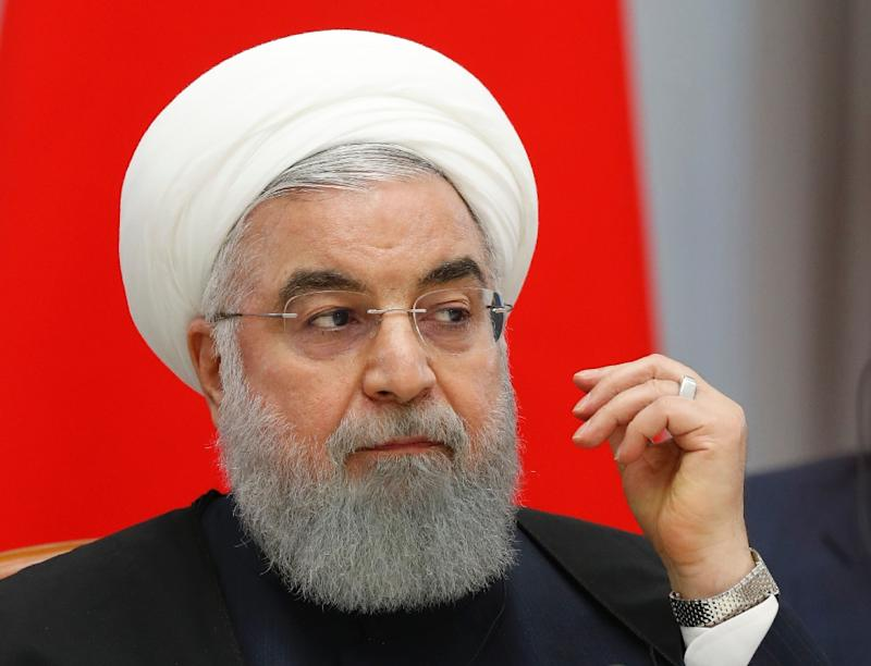 "Iranian President Hassan Rouhani has hailed his country's ""special"" ties with Iraq"