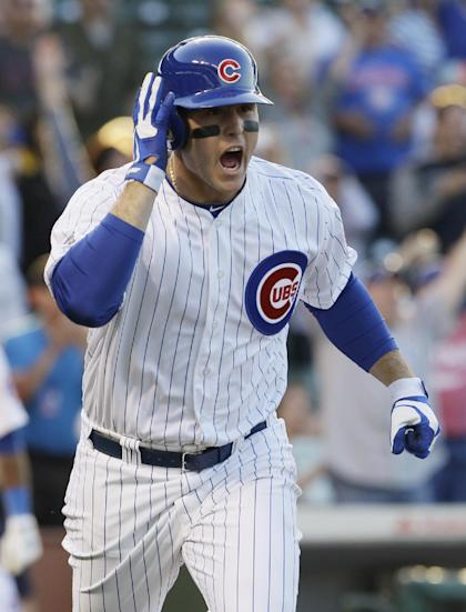 Anthony Rizzo's contract is looking like a bargain for the Cubs. (AP)