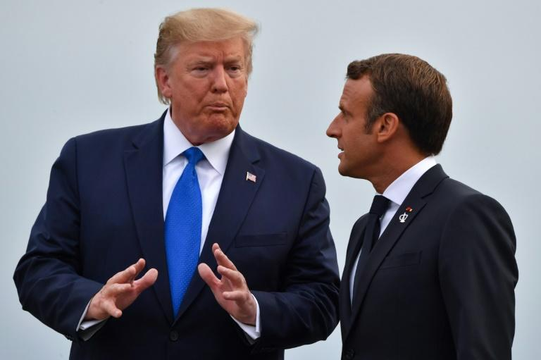 President Donald Trump got plenty of pushback from European leaders over his trade wars at the G7 summit (AFP Photo/Nicholas Kamm)