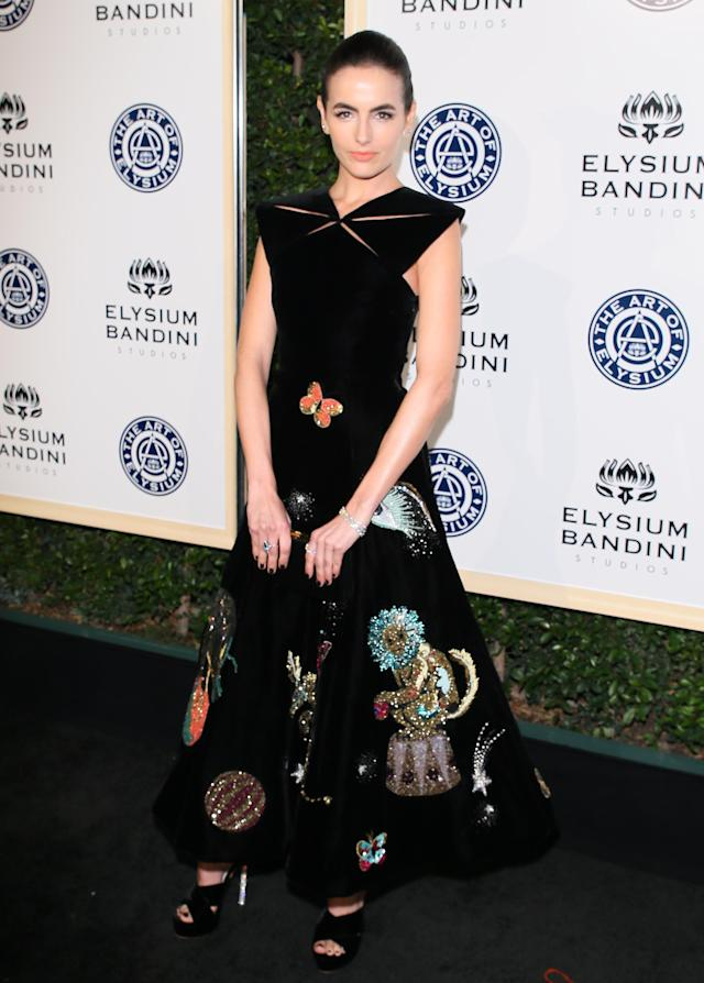 <p>Belle attends Art of Elysium's Heaven Gala in Los Angeles. (Photo: Getty Images) </p>