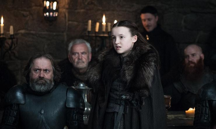 Lyanna Mormont in Game of Thrones: Helen Sloan/courtesy of HBO