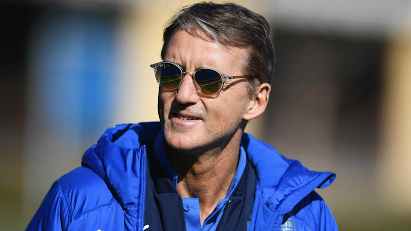 Mancini committed to Italy and rules out retreat to club football