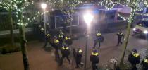 Protests over COVID-19 curfew in Geleen