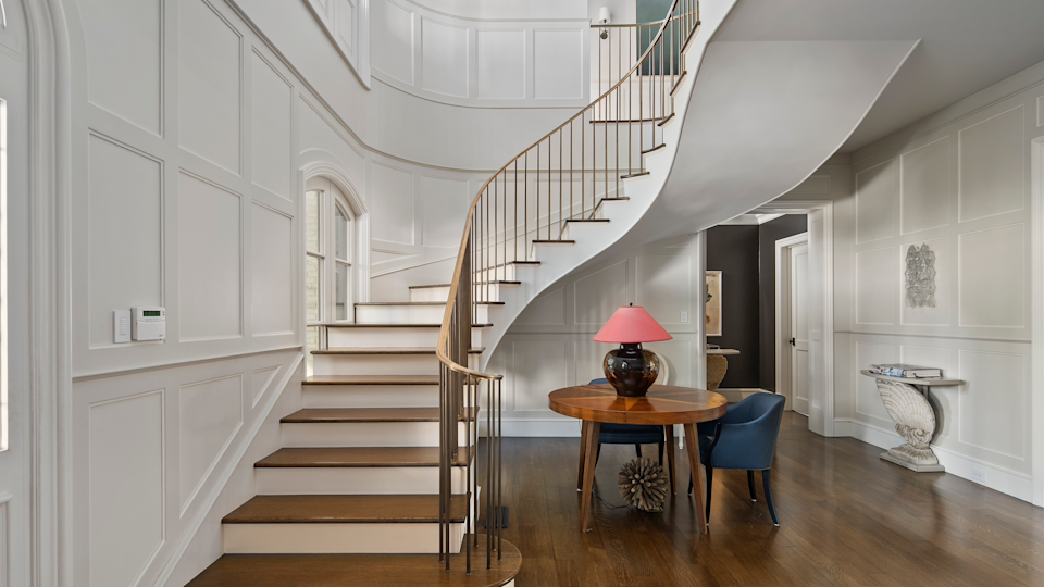 The staircase. - Credit: Willis Allen Real Estate/Forbes Global Properties