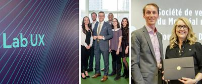 AN ACTIVE AND INVOLVED GROUP. Second-quarter achievements included the launch of the UX Lab, the appointment of a new Youth Advisory Board and L'actualité magazine's social impact award in the Environment category. (CNW Group/Desjardins Group)