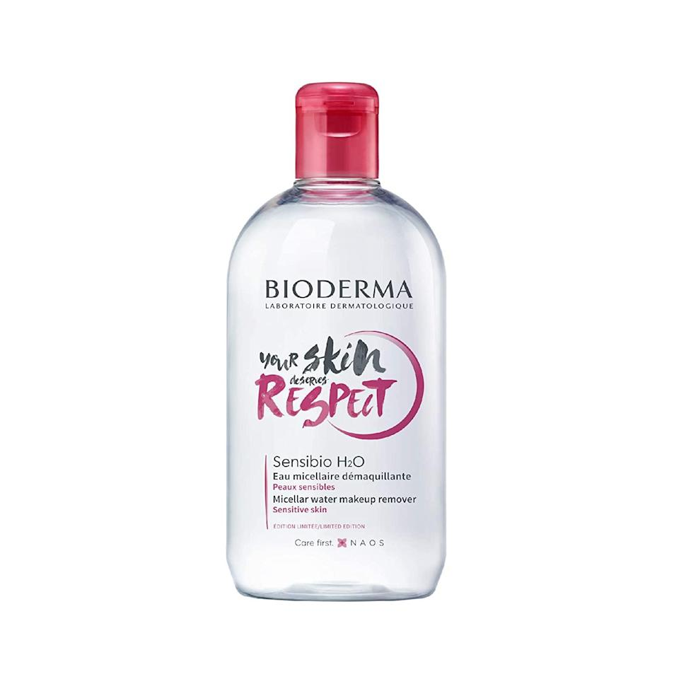 "<h3>First, Beauty Deals...</h3><br><h2>34% Off Bioderma Sensibio H2O Micellar Cleansing Water & Makeup Remover</h2><br>Sold in 70 countries (and counting!), Bioderma's Sensibio H20 is oil, paraben, and alcohol-free making it a delicate but effective makeup remover trusted by dermatologists, beauty editors, and used by non-professional skin-care enthusiasts everywhere.<br><br><br><strong>Bioderma</strong> Sensibio H2O - Micellar Water, $, available at <a href=""https://amzn.to/37mb8Ql"" rel=""nofollow noopener"" target=""_blank"" data-ylk=""slk:Amazon"" class=""link rapid-noclick-resp"">Amazon</a>"