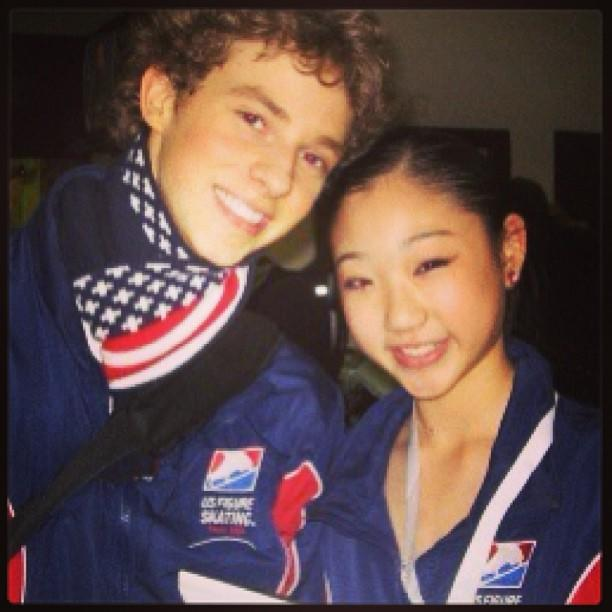 <p>@adaripp: Now I remember why I don't wear my American flag scarf anymore. @mirainagasu.<br />(Instagram/@adaripp) </p>