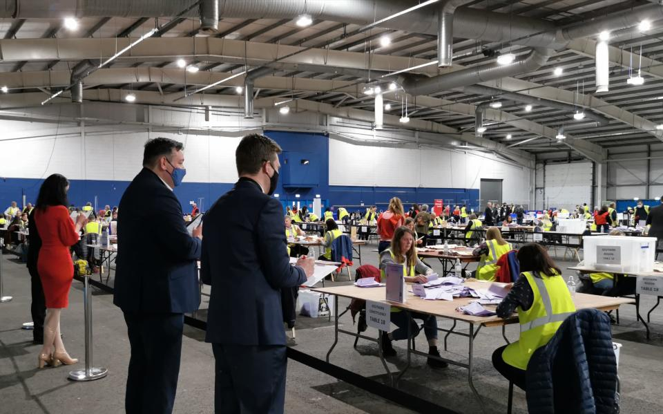 Edinburgh Southern constituency count