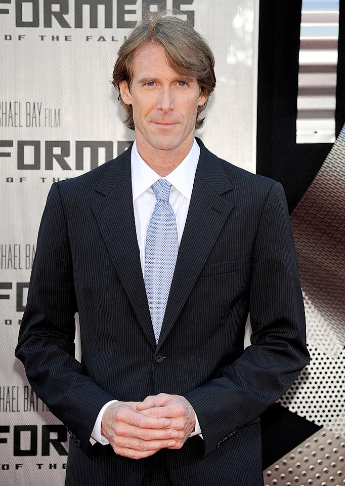 "<a href=""http://movies.yahoo.com/movie/contributor/1800020334"">Michael Bay</a> at the Los Angeles premiere of <a href=""http://movies.yahoo.com/movie/1809943432/info"">Transformers: Revenge of the Fallen</a> - 06/22/2009"