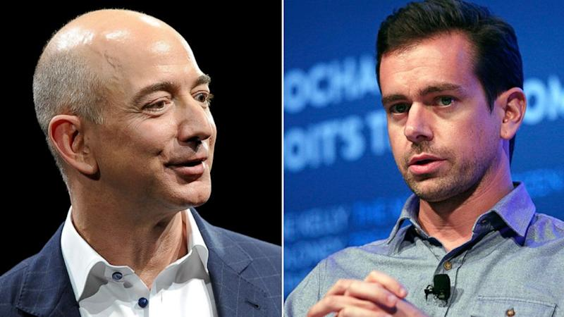 Bezos and Dorsey: 2 of Tech's Most Powerful Slammed in New Book Excerpts