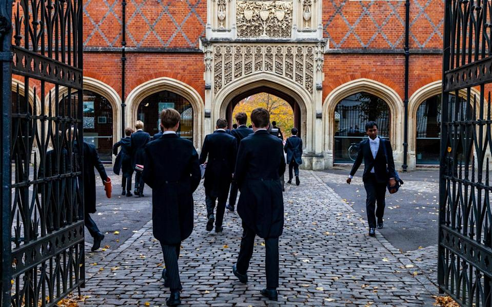 The Telegraph revealed that a master at Eton had been dismissed for gross misconduct after recording a lecture which questioned 'current radical feminist orthodoxy' - Alamy