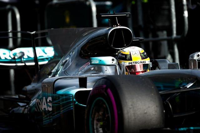 Still the one: Hours into the 2017 F1 season and already Lewis Hamilton and Merc are the package to beat. Good luck with that
