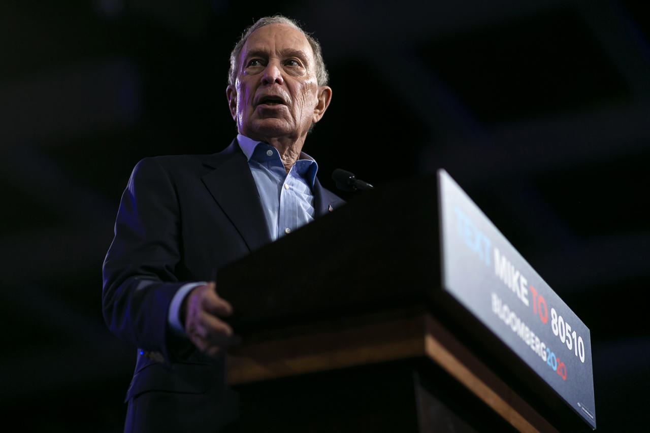"""<p><strong>Primaries and/or caucuses won:</strong> One. Bloomberg <a href=""""https://people.com/politics/mike-bloomberg-drops-out-of-2020-race-endorses-joe-biden/"""">dropped out of the race</a> on March 4.</p> <p><strong>Delegates won:</strong> 61 — four from American Samoa, five from Arkansas (third-place finish), 15 from California (third-place finish), nine from Colorado (third-place finish), four from North Carolina (third-place finish), two from Oklahoma (third-place finish), 10 from Tennessee (third-place finish), 10 from Texas (third-place finish) and two from Utah (third-place finish).</p>"""