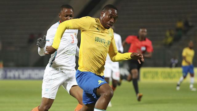 Sibusiso Vilakazi scored the only goal of the game as Mosimane's men moved to within six points of log leaders Kaizer Chiefs