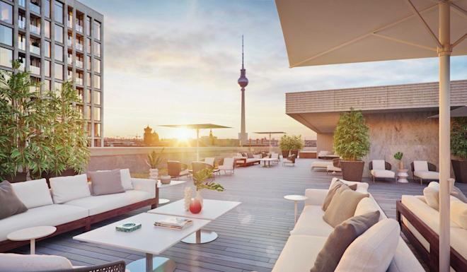 A residential building in Westend, one of Frankfurt's most desirable residential areas. Photo: Handout