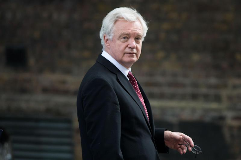 The Brexit Secretary is delivering a speech to Austrian business leaders on Wednesday: Bloomberg via Getty Images