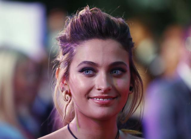 Paris Jackson arrives for the opening ceremony of the 25th Life Ball in Vienna on June 2. (Photo: Reuters/Leonhard Foeger