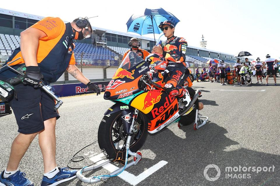 "Kaito Toba, Red Bull KTM Ajo <span class=""copyright"">Gold and Goose / Motorsport Images</span>"