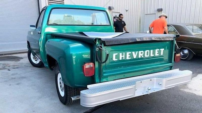Fully Restored 1979 Chevrolet C10 Step-Side Up For Grabs
