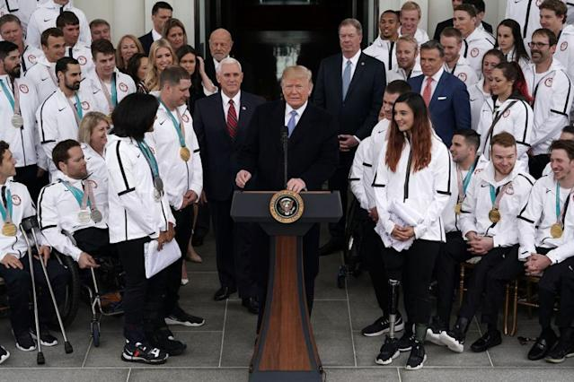 Trump Faces Criticism After Saying Paralympic Games 'Tough' to Watch