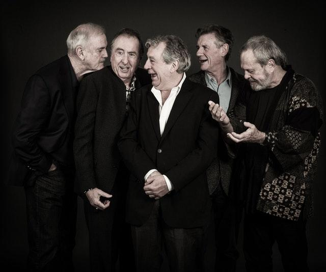 John Cleese, Eric Idle, the late Terry Jones, Sir Michael Palin and Terry Gilliam