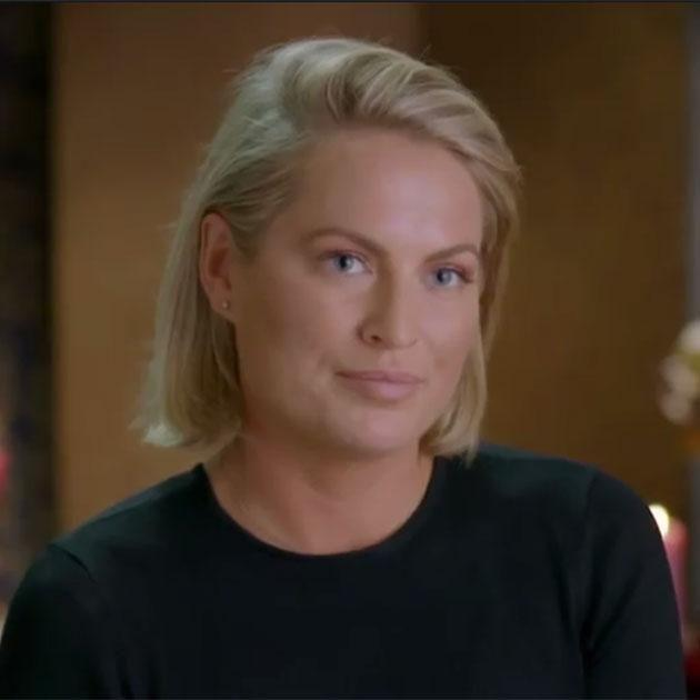 Keira's face doesn't hold back. Source: Network Ten
