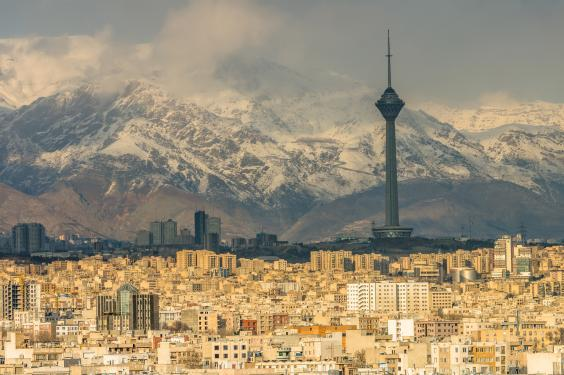The Iranian capital, Tehran (istock)