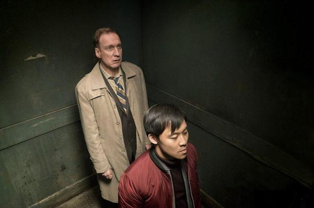 David Thewlis as V.M. Varga and Andy Yu as Meemo in FX's 'Fargo' (Credit: Chris Large/FX)