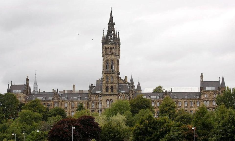The University of Glasgow was placed second in Scotland (Danny Lawson/PA) (PA Archive)