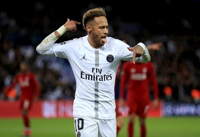 Neymar has been linked with a summer move to Real Madrid