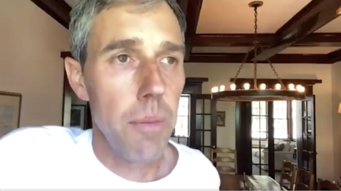 <p>Beto O'Rourke shared a series of videos outlining the issues with the Republican voting reform bill</p> (Twitter/BetoMedia)