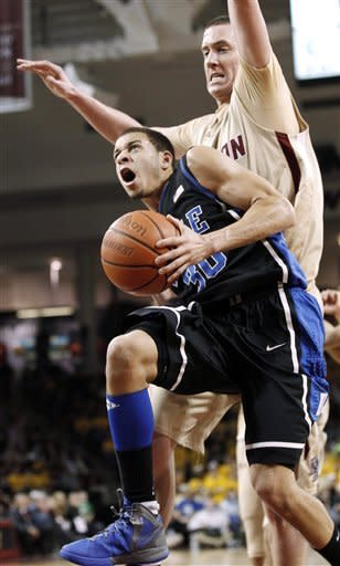 No. 5 Duke beats BC 75-50 behind Curry's 18 points